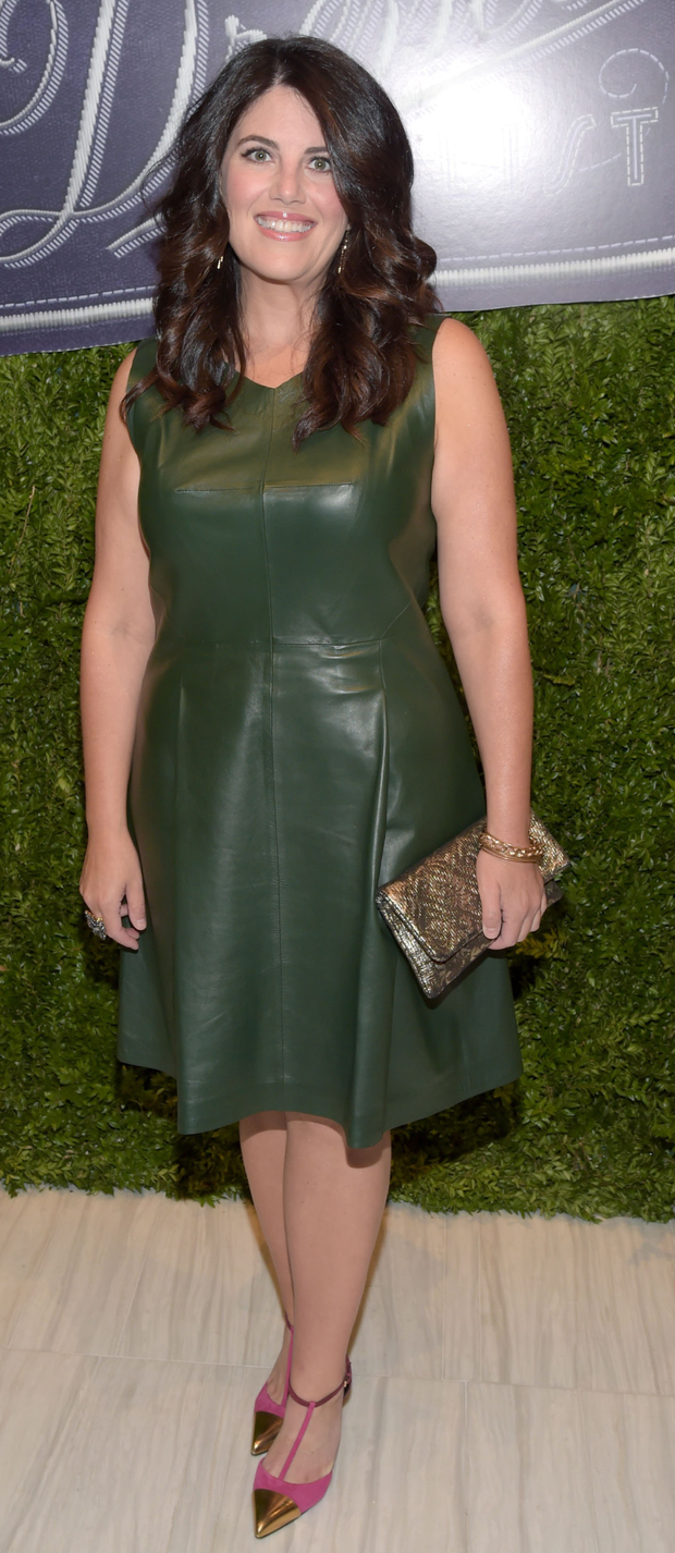 Monica Lewinsky at a recent fashion event in New York