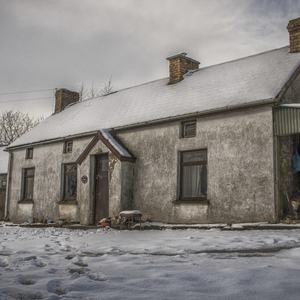 The farmhouse in rural Co Tyrone was home to Dessie and his brothers for decades