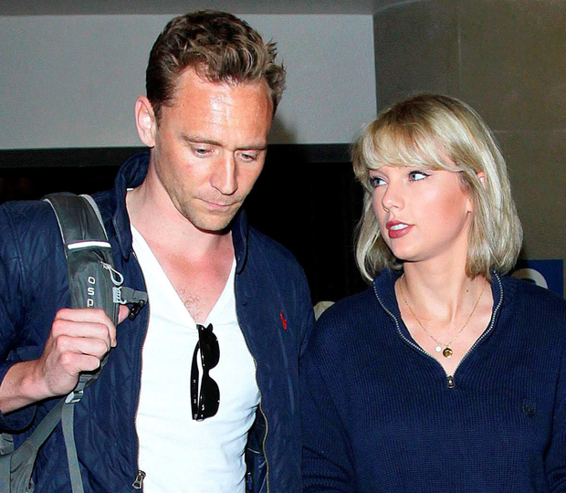 Taylor Swift with ex Tom Hiddleston
