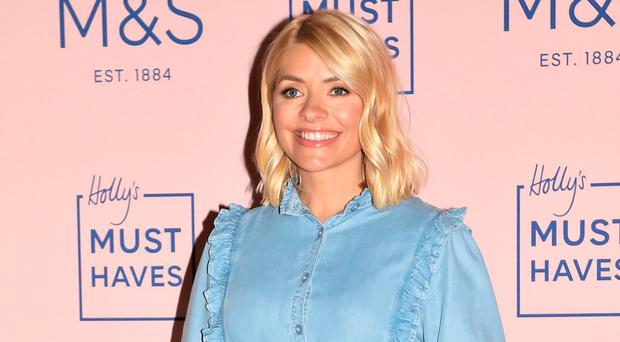 Style icon: Holly Willoughby launching her M&S range