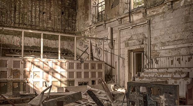 Pictures by Rebecca, a photographer specialising in abandoned places, show the extent to which the old Crumlin Road courthouse has fallen into disrepair