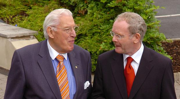 'As political epithets go, the achievement of Ian Paisley and Martin McGuinness working together, is not a bad one by any measure of success'