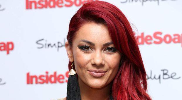 In shape: Dianne Buswell