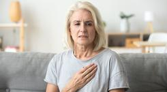 Crucial signs: chest pain can be a sign of heart disease