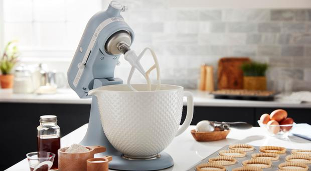 Timeless classic: a 100th anniversary stand mixer from KitchenAid