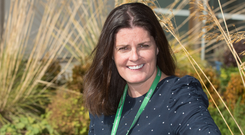 Tara Boyle, manager of the Macmillan Support Centre at Altnagelvin Hospital