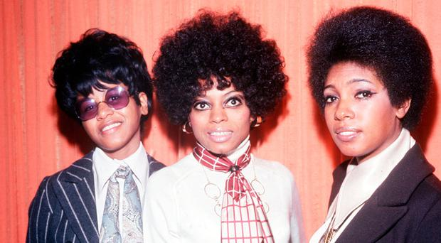 Trailblazers: The Supremes (from left) Cindy Birdsong, Diana Ross and Mary Wilson