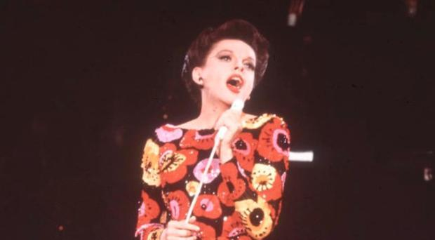 Troubled life: Judy Garland