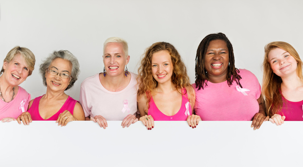 All smiles: October is Breast Cancer Awareness Month
