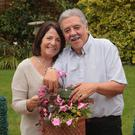 David Jones with his wife Marie at home in Portadown
