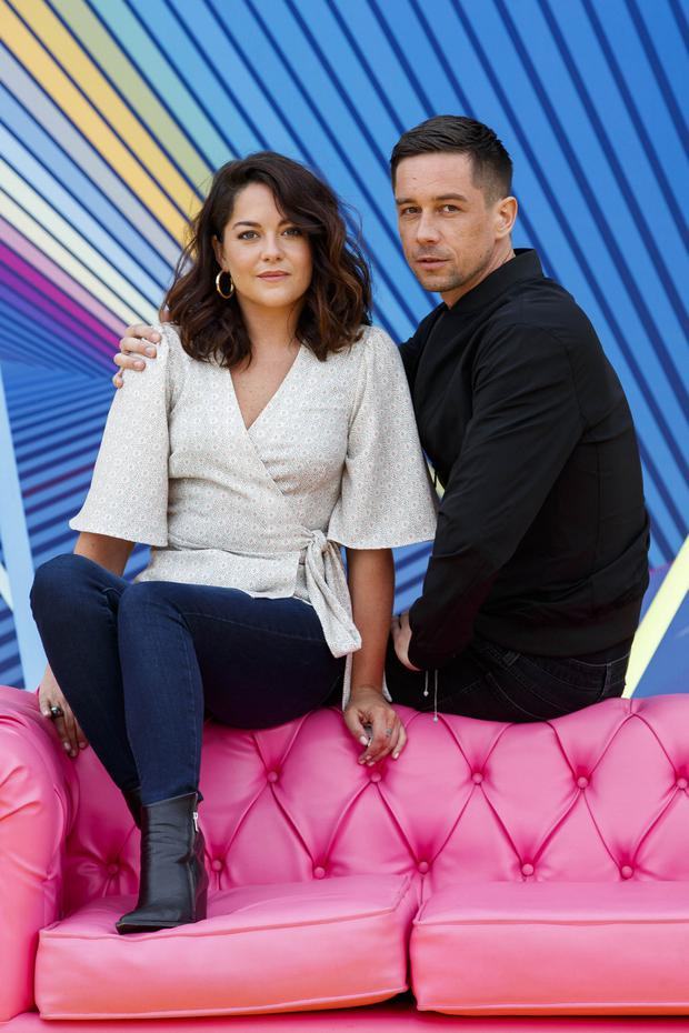 Co-stars Killian Scott and Sarah Greene
