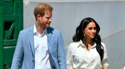 Media glare: Prince Harry and Meghan are regularly featured in British newspapers