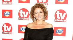 Staying strong: Nadia Sawalha has finally given up smoking