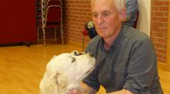 Expert advice: Robin Bates always wanted to work with animals