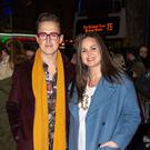Proud parents: Giovanna and Tom Fletcher