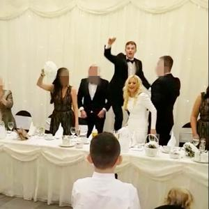 Simply the worst: an image from the wedding in Carrickfergus