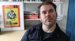 Stephen Sexton, who has written his debut book of poetry about the loss of his mother