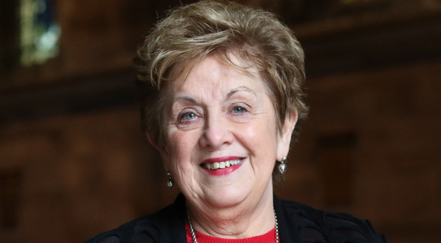 Royal recognition: Olivia Nash was awarded an MBE for her theatre and charity work