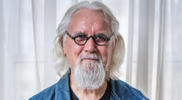 Still laughing: Billy Connolly