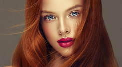 Staying power: brunettes and redheads can retain their colour