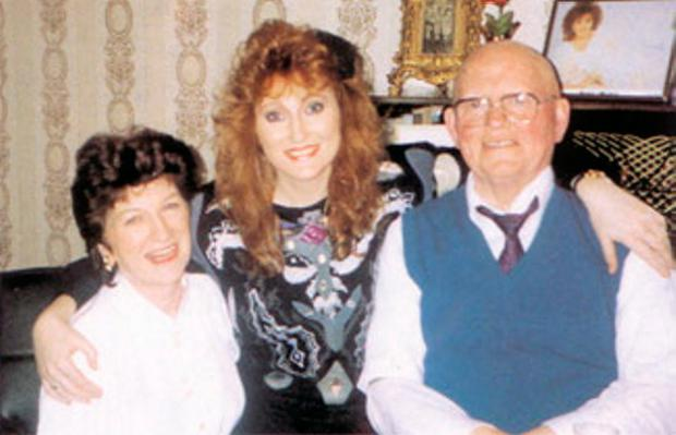 Precious memories: Rose-Marie with her mother Ann and father Owen