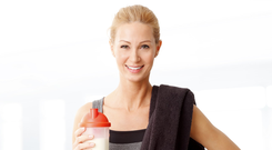 No shakes: with a properly balanced diet you don't always require protein drinks