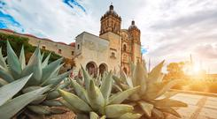Sunshine state: an Oaxaca church in Mexico