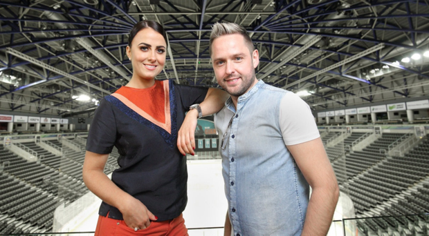 Hit duet: Derek Ryan with Lisa McHugh, who features on his new album
