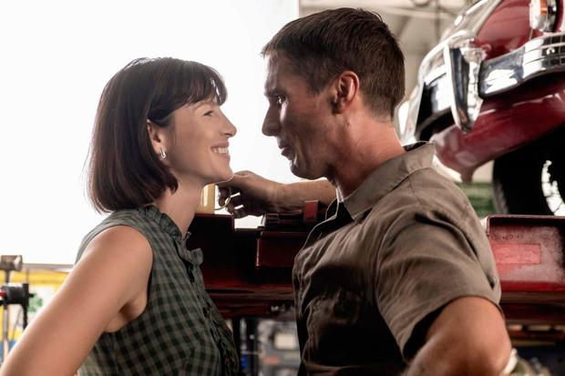 Christian Bale with Catriona Balfe as Mollie Miles