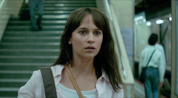 Quirky role: Alicia Vikander as Lucy Fly