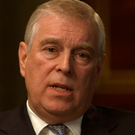 Prince Andrew during his disastrous BBC interview