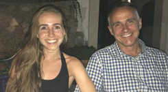 To hell and back: Mark Simmonds with daughter Emily
