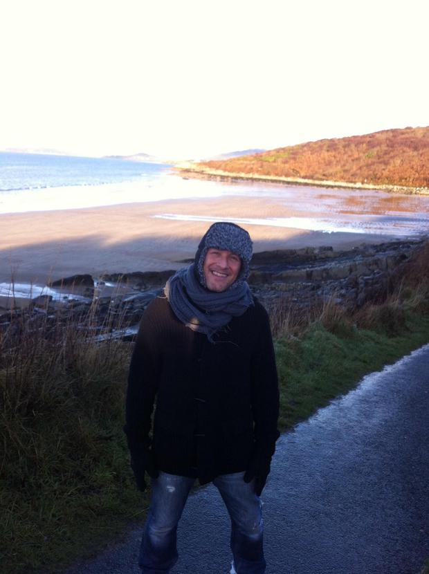 Vivian Campbell in Donegal
