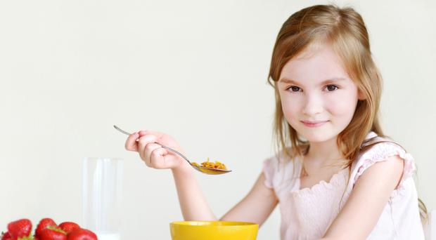 Rise and shine: research has underlined the importance of breakfast