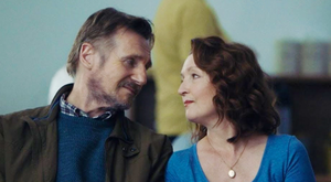 Liam Neeson and Lesley Manville in Ordinary Love