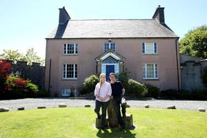 June and David Traill at their home in Bushmills