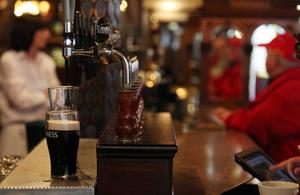 Trying times for the industry: Belfast's historic Crown bar
