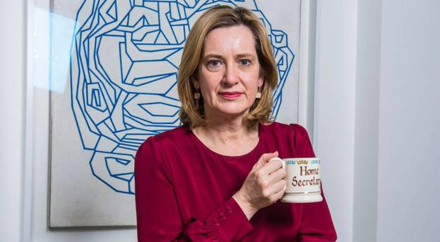 Waiting in the wings: Amber Rudd