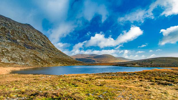 Slieve Binnian and Blue Lough is a half-day route