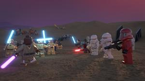 Space battle: The Lego Star Wars Holiday Special