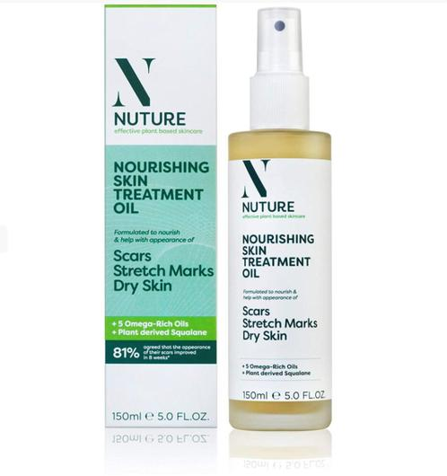 Nuture Nourishing Skin Treatment Oil (£5,99, was £8.99, Boots