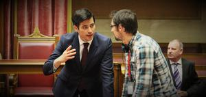Robert James-Collier chats with director Richard Elson