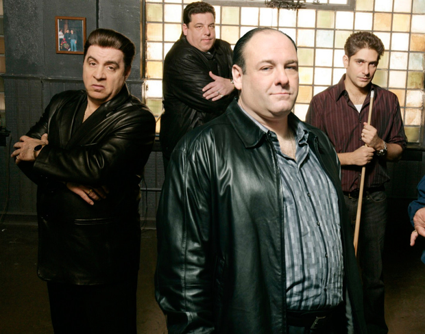 Actor Vincent Pastore starring in The Sopranos
