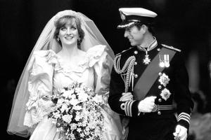 Lady Diana Spencer's fabulous creation by David and Elizabeth Emanuel