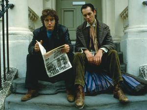 Iconic duo: Richard E Grant and Paul McGann in the original