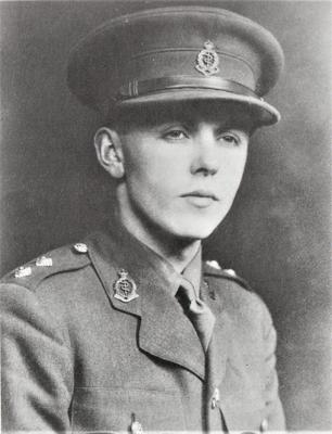 The young Frank during the war