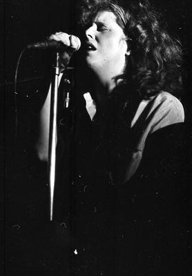 Mary Coughlan on stage in 1986