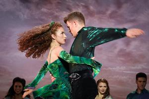 World stage: Amy-Mae with Bobby Hodges in True North: Born To Riverdance