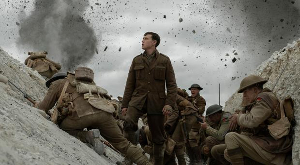 Epic story: George MacKay as Lance Corporal William Schofield in 1917