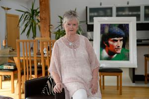 Barbara McNarry, sister of George Best, at her Co Down home